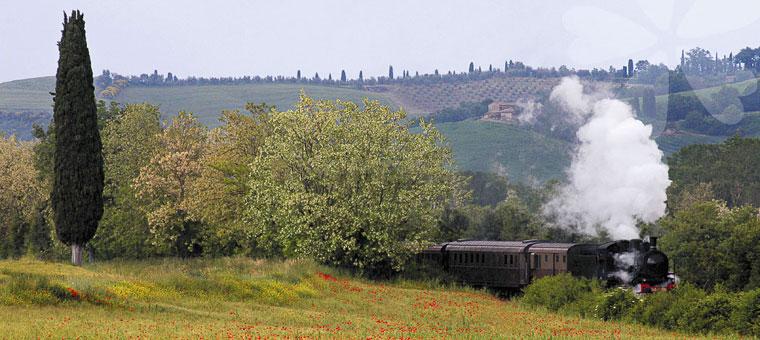 Maremma Toscana in treno a vapore