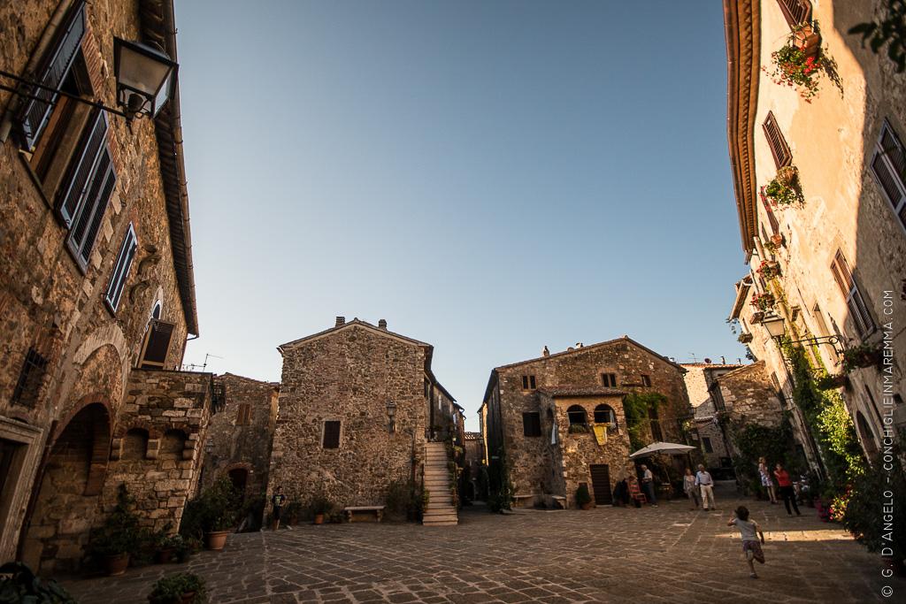 Montemerano, borgo più bello d'italia