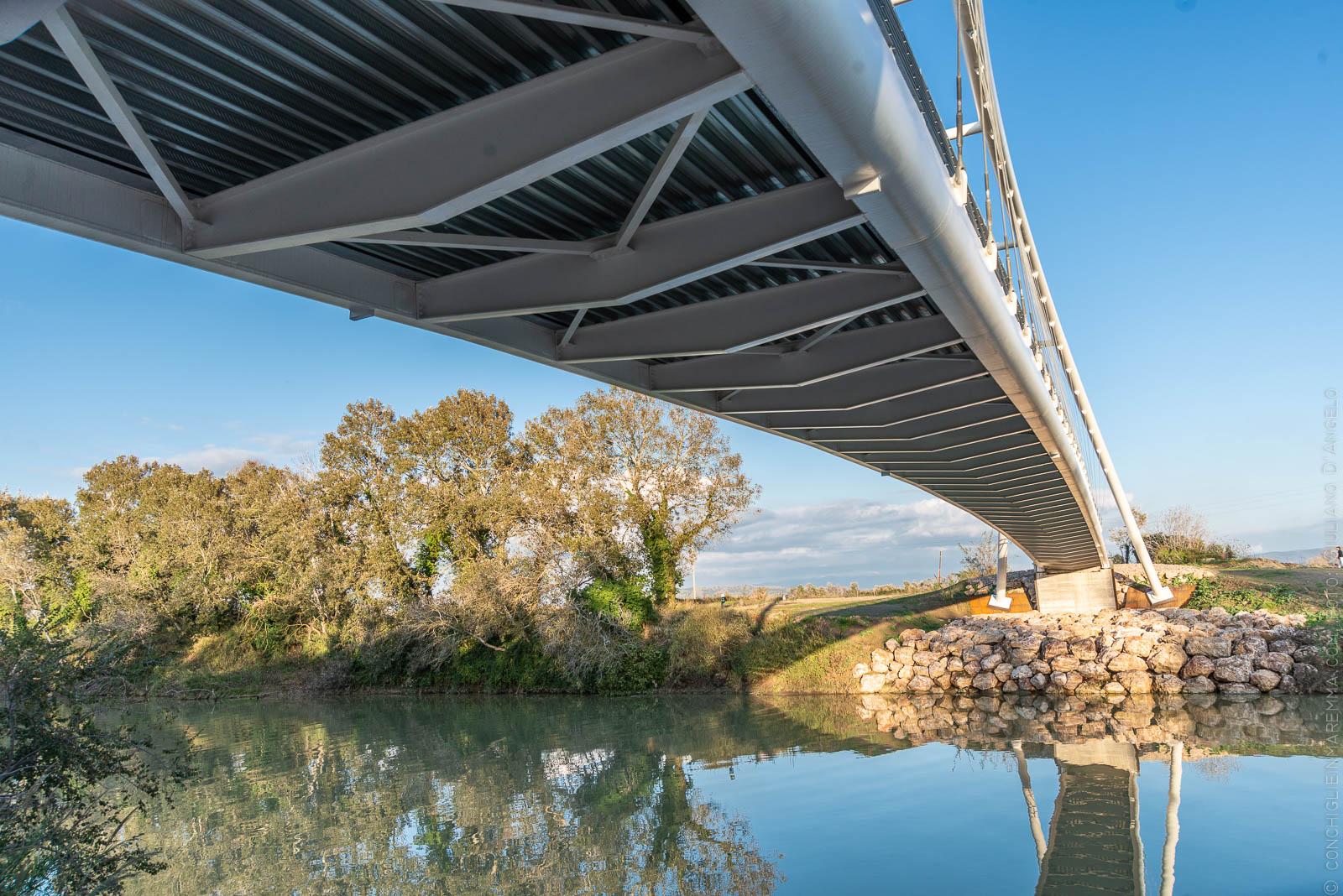 Itinerario bike: Alberese, il ponte la bonifica